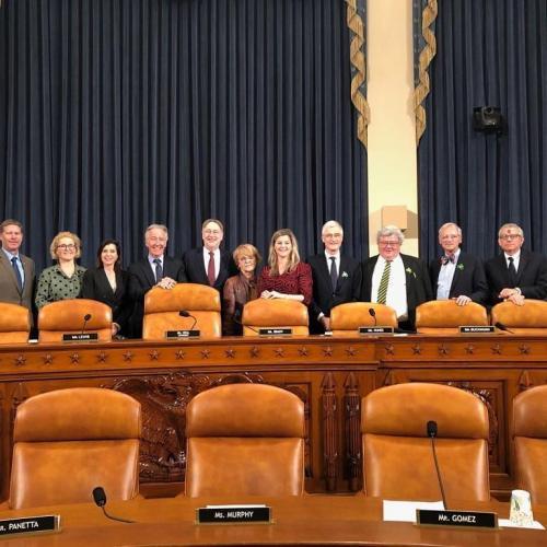 Delegacja Parlamentu Europejskiego w Waszyngtonie, 27.01.2020